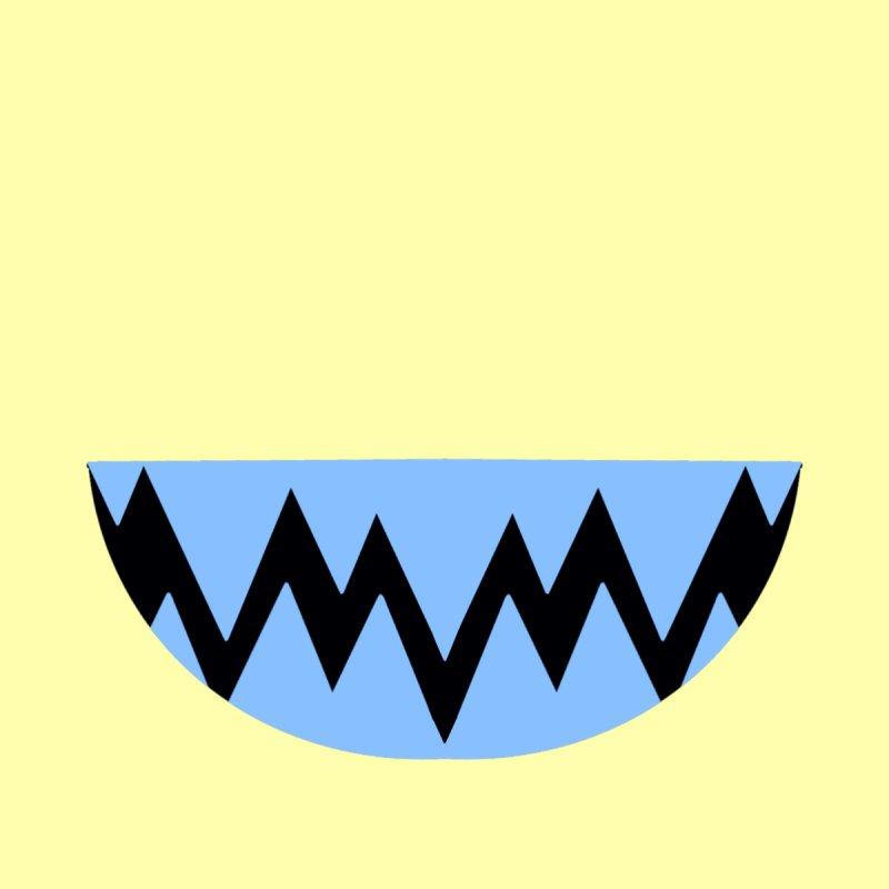 BLUE TEETHY Kids Toddler Zip-Up Hoody by Aidadaism