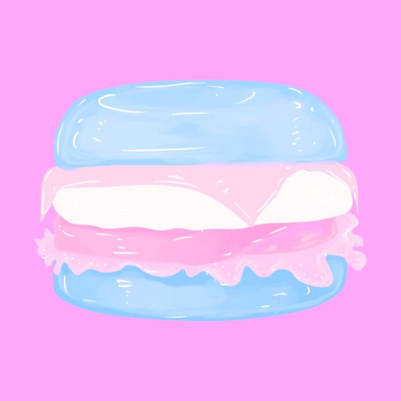 Transgender Burger in Pink Kids Baby T-Shirt by Aidadaism