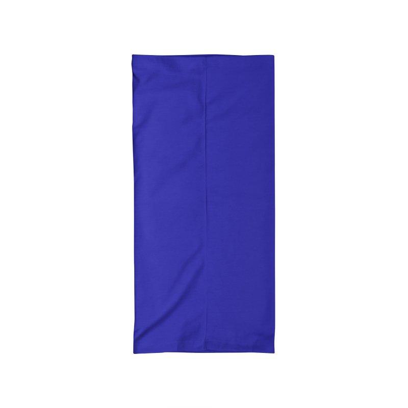 Custard Cat Intersex Pride Flag in Blue Accessories Neck Gaiter by Aidadaism