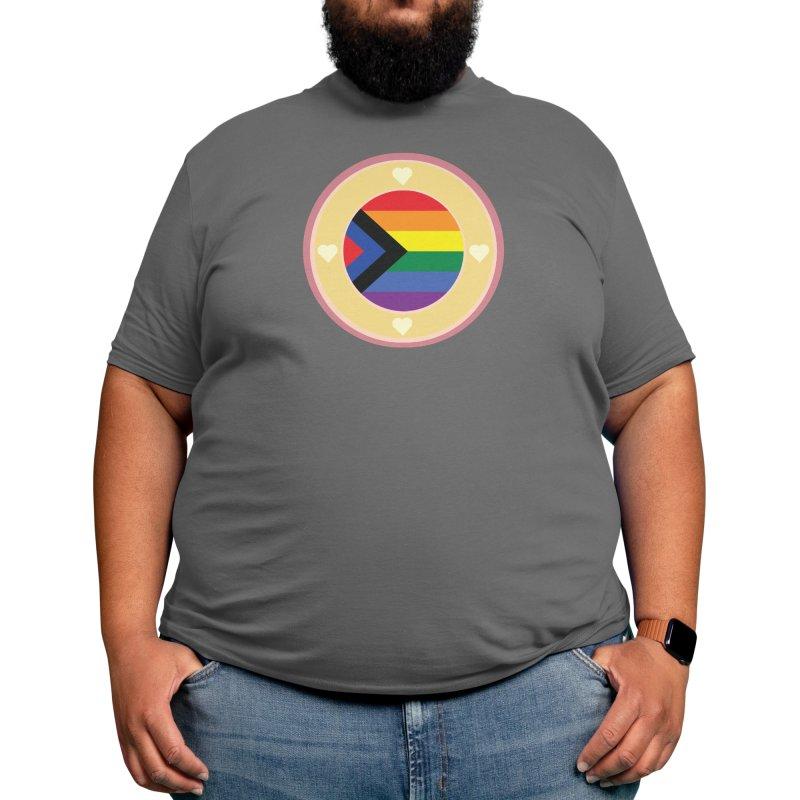 Social Justic Pride Flag ( Purple ) Men's T-Shirt by Aidadaism