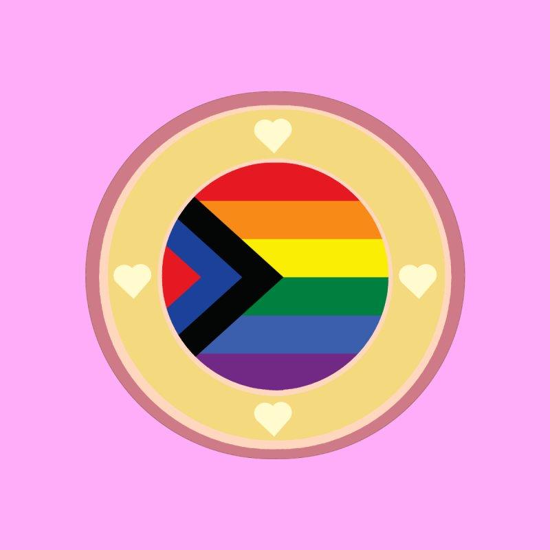 Social Justic Pride Flag ( Pink ) Men's T-Shirt by Aidadaism