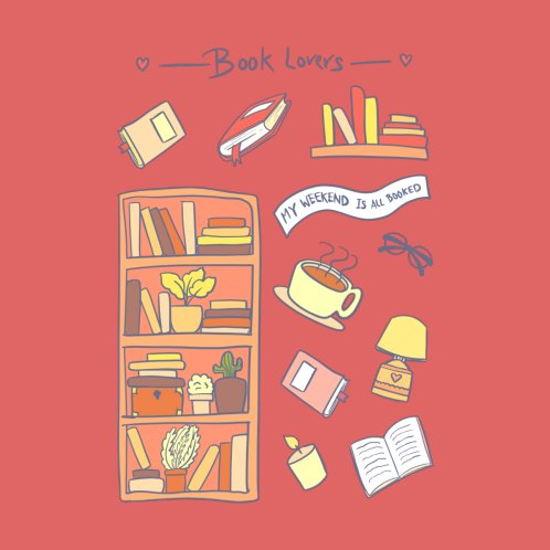 Design for Book Lovers ( Red )