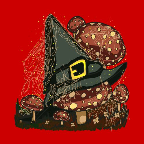 Design for Witches Hat ( Red )