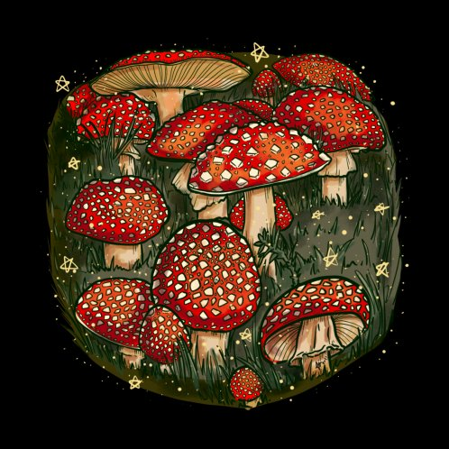 Design for Fly Agaric - The Toadstool Mushroom