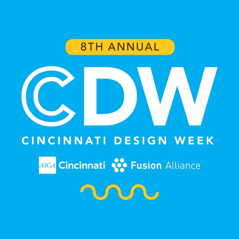 Design Week Simple Men's T-Shirt by AIGA Cincinnati Merch