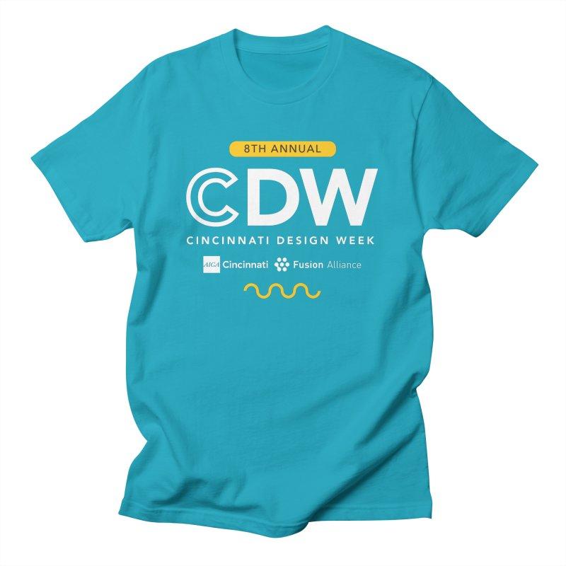 Design Week Simple Men's T-Shirt by AIGA Cincinnati Merch