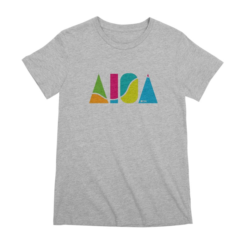 True Colors Women's Premium T-Shirt by AIGA Cincinnati Merch