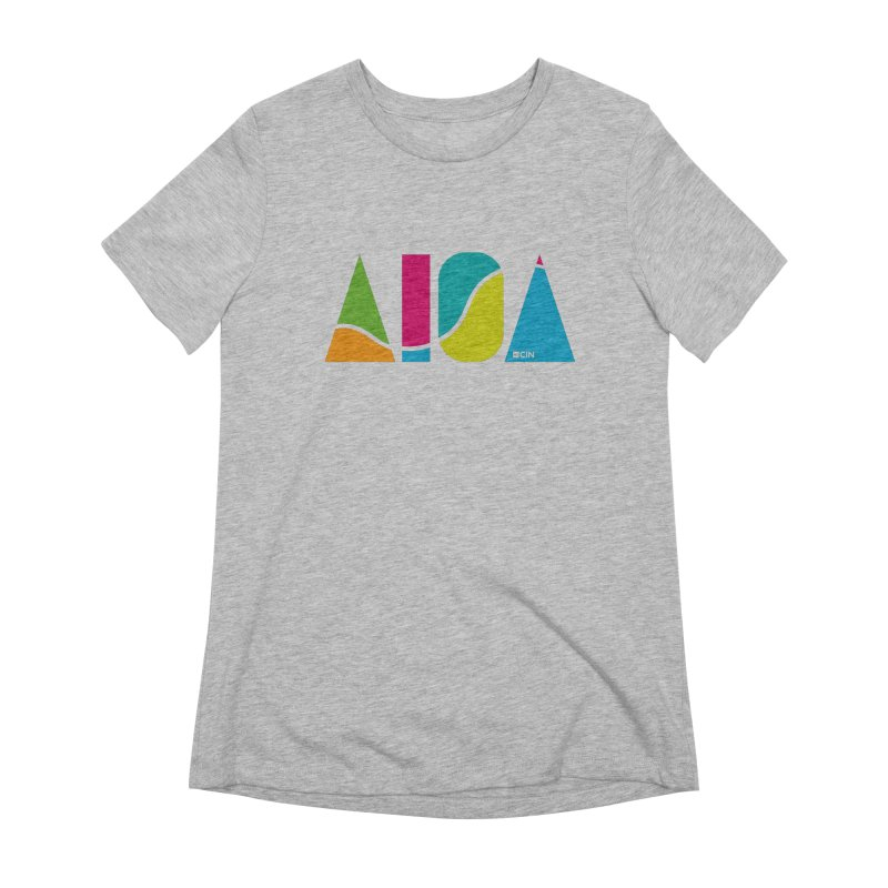 True Colors Women's Extra Soft T-Shirt by AIGA Cincinnati Merch