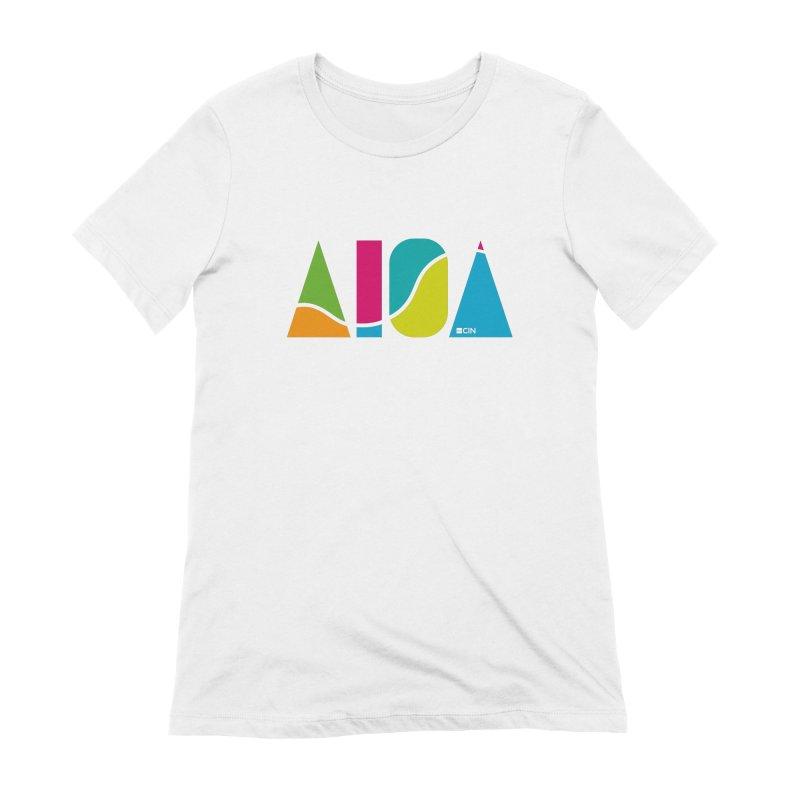 True Colors Women's T-Shirt by AIGA Cincinnati Merch