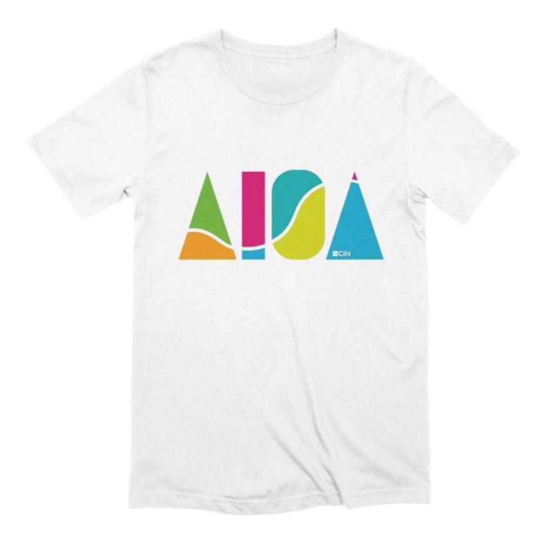 True Colors Men's Extra Soft T-Shirt by AIGA Cincinnati Merch