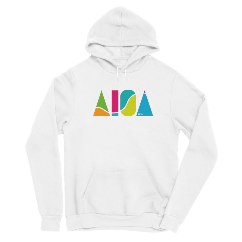 True Colors Men's Pullover Hoody by AIGA Cincinnati Merch