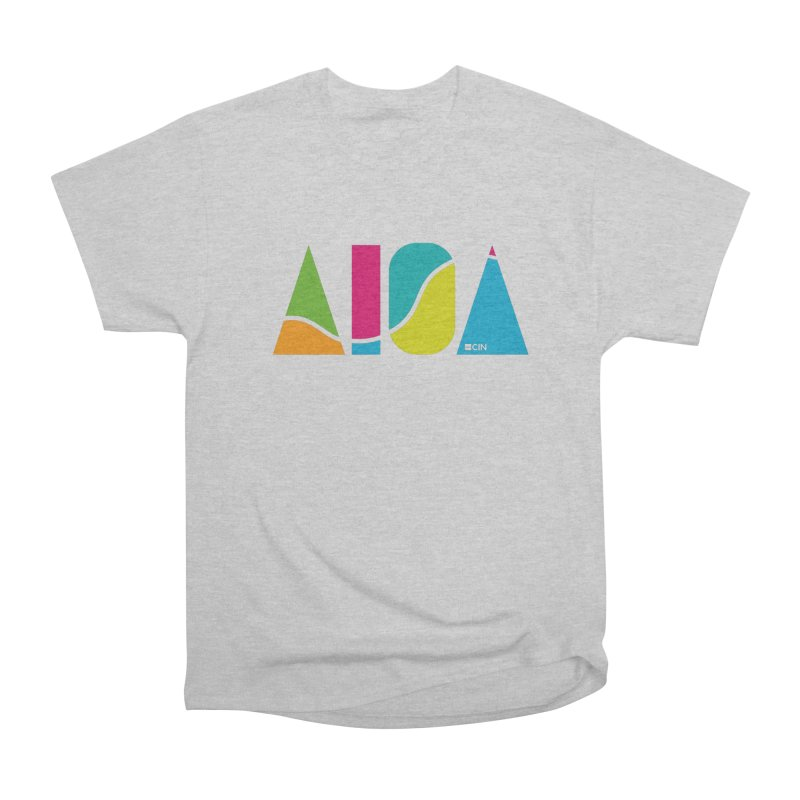 True Colors Women's Heavyweight Unisex T-Shirt by AIGA Cincinnati Merch