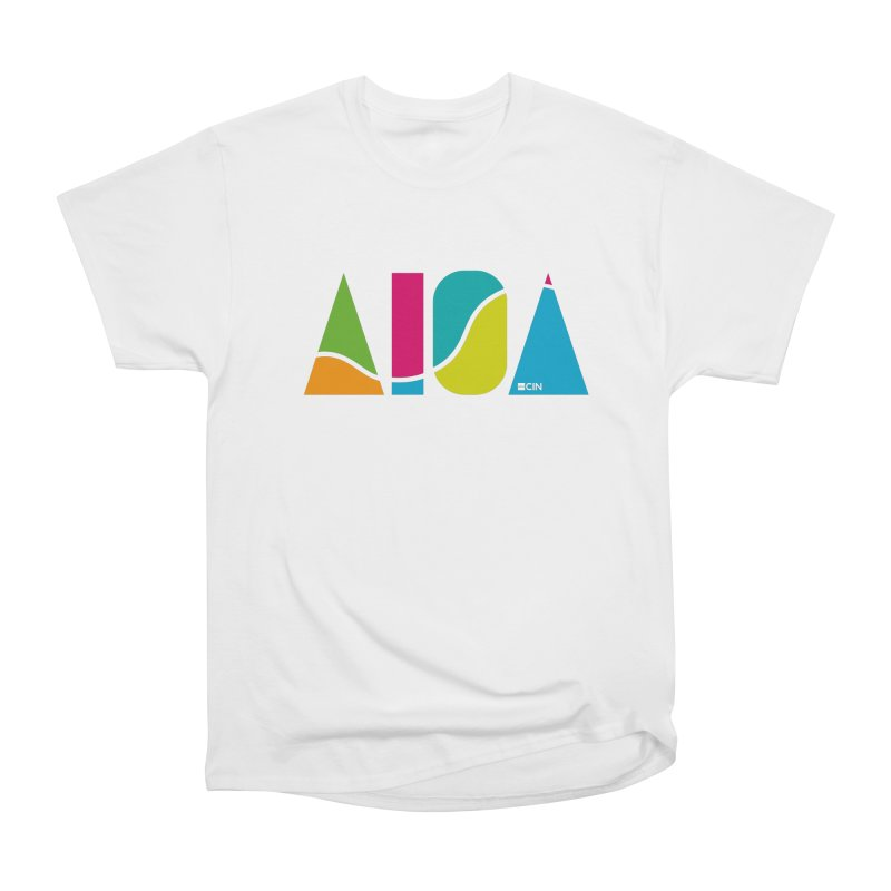 True Colors Women's Heavyweight Unisex T-Shirt by AIGA Cincinnati Merch