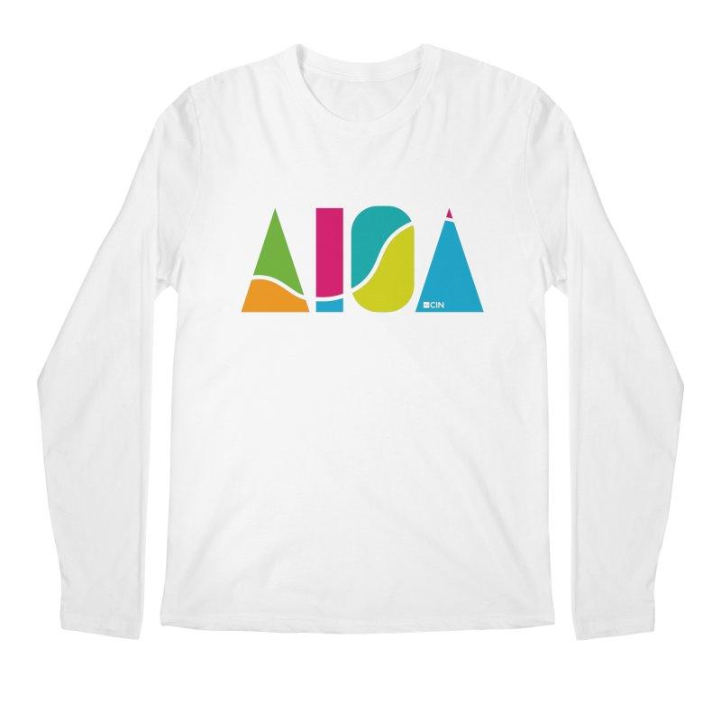True Colors Men's Regular Longsleeve T-Shirt by AIGA Cincinnati Merch