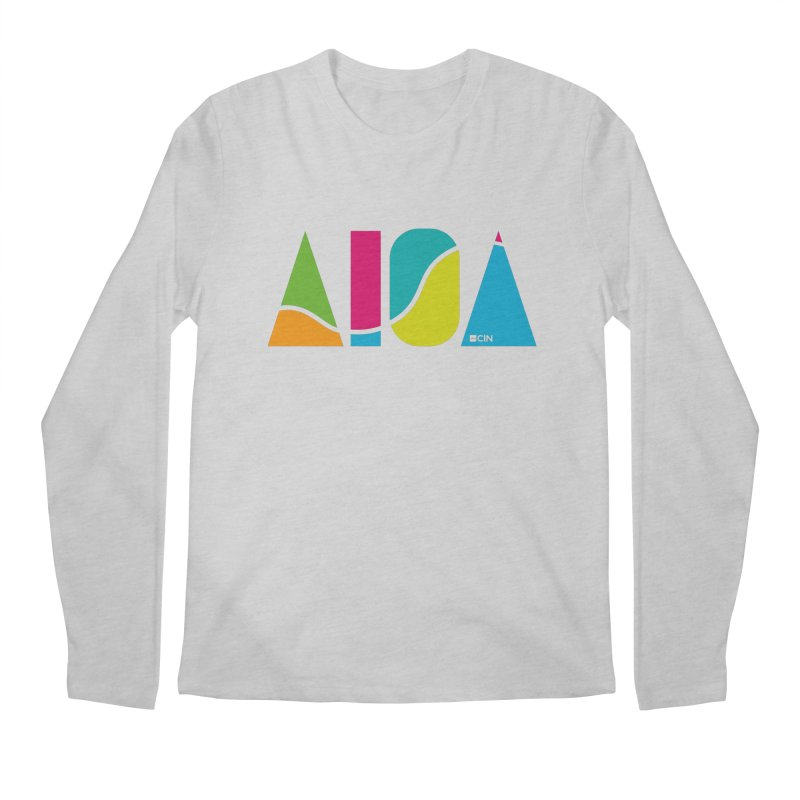 True Colors Men's Longsleeve T-Shirt by AIGA Cincinnati Merch