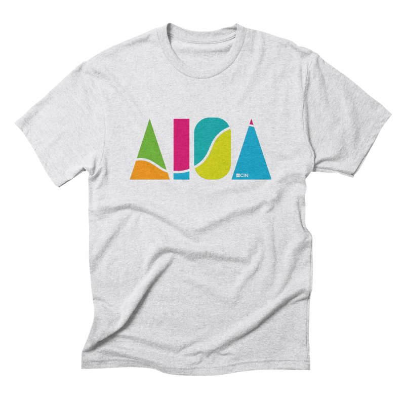 True Colors Men's Triblend T-Shirt by AIGA Cincinnati Merch