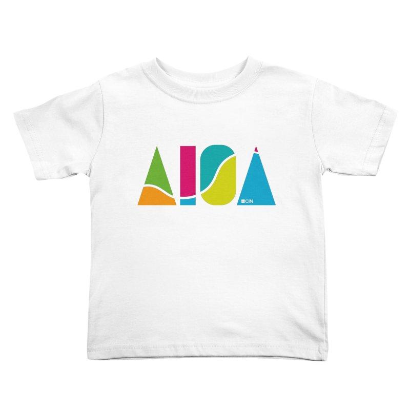 True Colors Kids Toddler T-Shirt by AIGA Cincinnati Merch