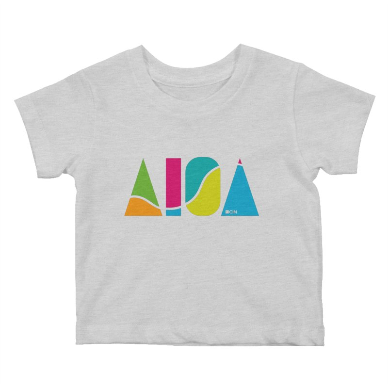 True Colors Kids Baby T-Shirt by AIGA Cincinnati Merch
