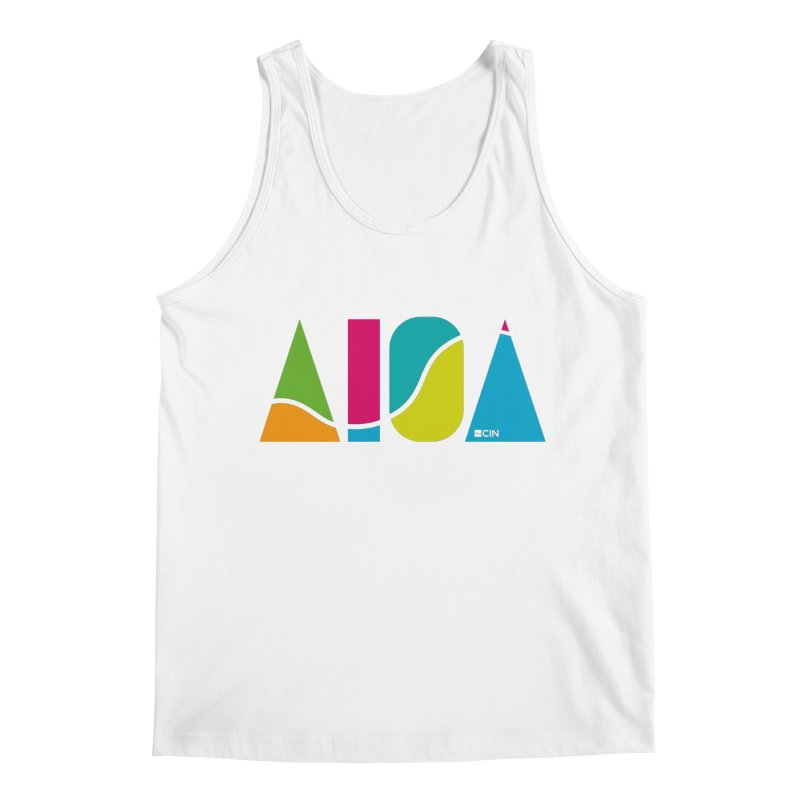 True Colors Men's Tank by AIGA Cincinnati Merch