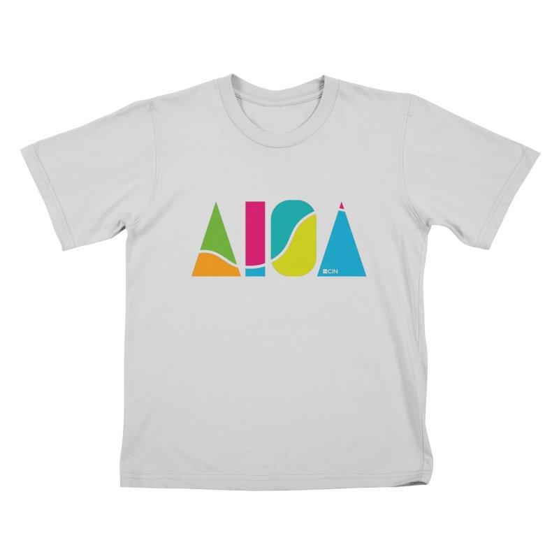 True Colors Kids T-Shirt by AIGA Cincinnati Merch