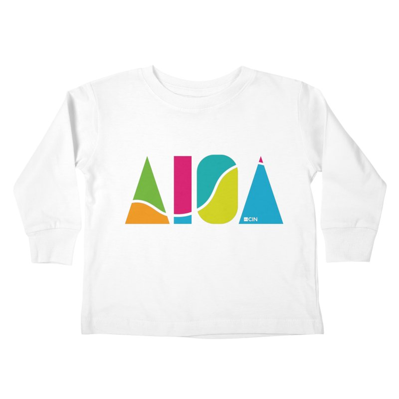 True Colors Kids Toddler Longsleeve T-Shirt by AIGA Cincinnati Merch