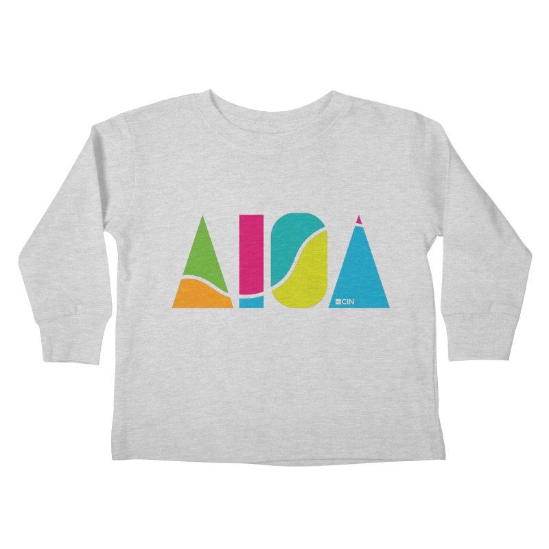True Colors Kids Toddler Longsleeve T-Shirt by AIGA Cincinnati Merch