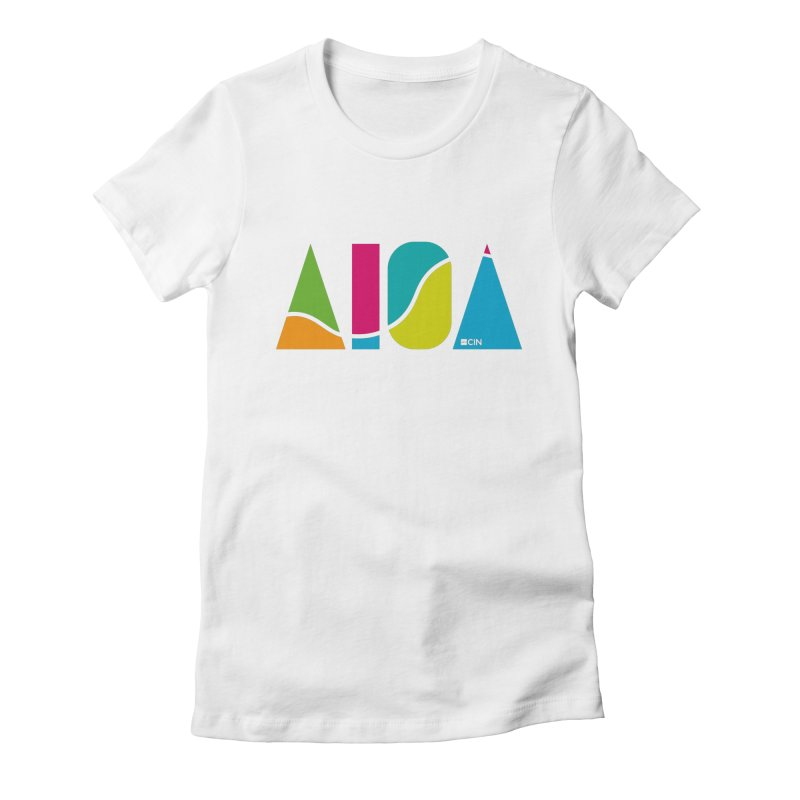 True Colors Women's T-Shirt by AIGA Cincinnati Merch