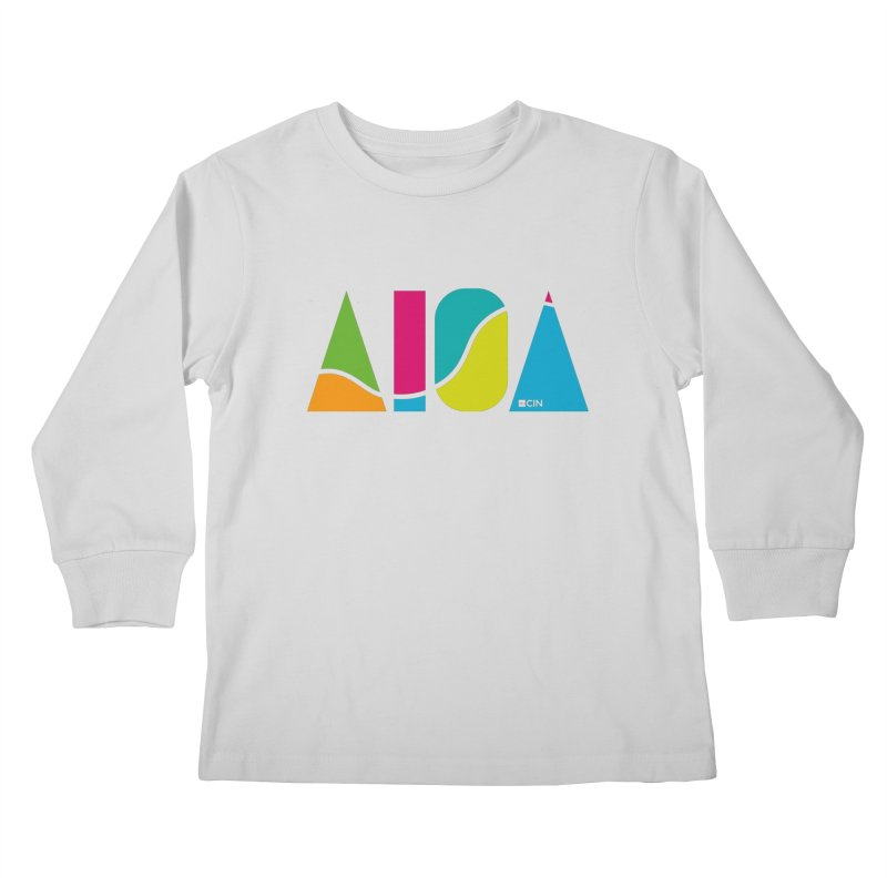 True Colors Kids Longsleeve T-Shirt by AIGA Cincinnati Merch