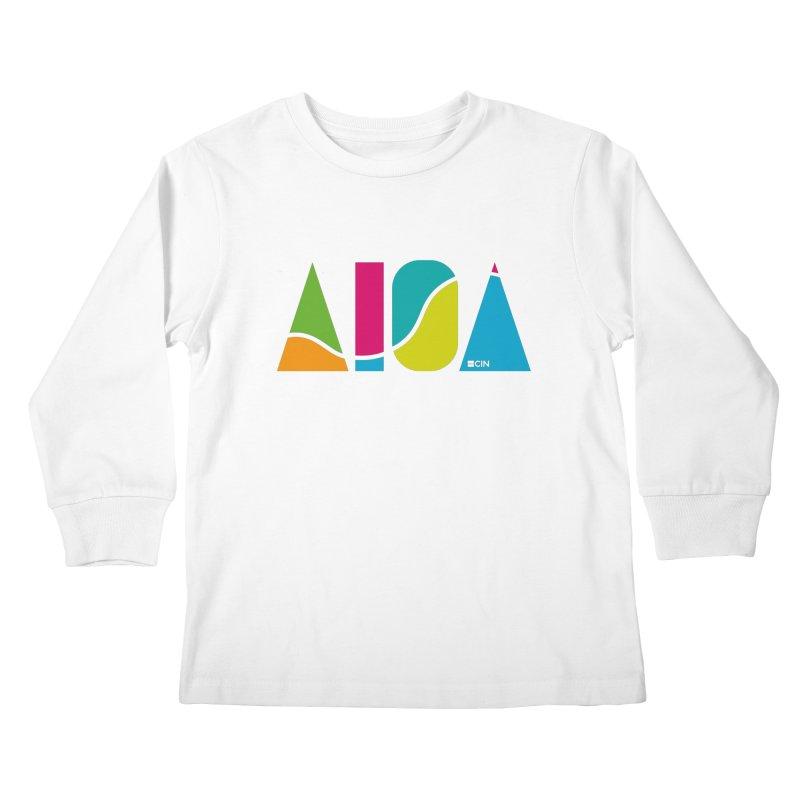 True Colors Kids Longsleeve T-Shirt by AIGA Cincinnati Merch