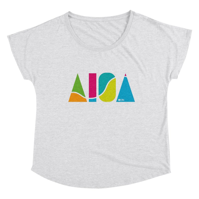 True Colors Women's Scoop Neck by AIGA Cincinnati Merch