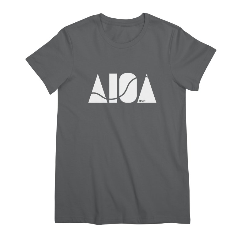 River Town Women's T-Shirt by AIGA Cincinnati Merch