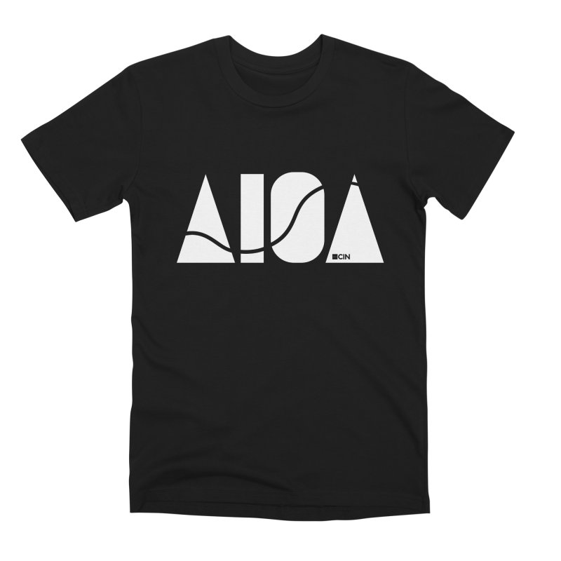 River Town Men's Premium T-Shirt by AIGA Cincinnati Merch