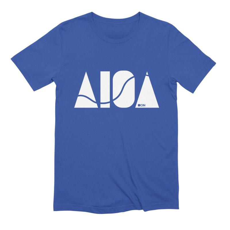 River Town Men's T-Shirt by AIGA Cincinnati Merch