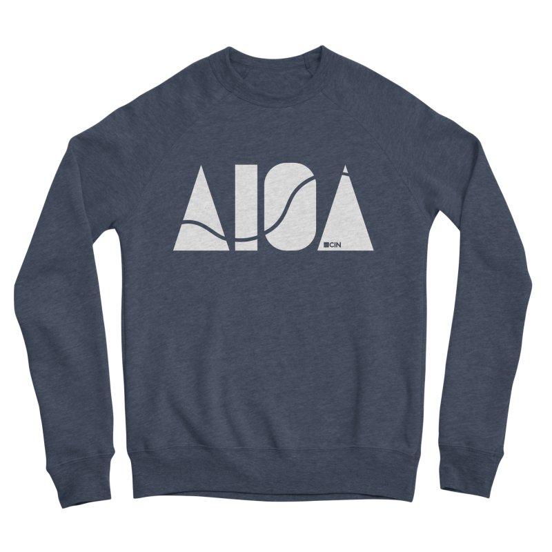 River Town Men's Sponge Fleece Sweatshirt by AIGA Cincinnati Merch