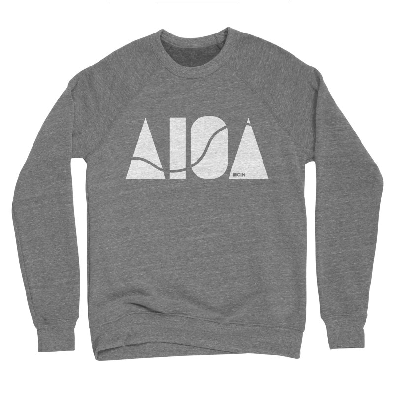 River Town Women's Sweatshirt by AIGA Cincinnati Merch