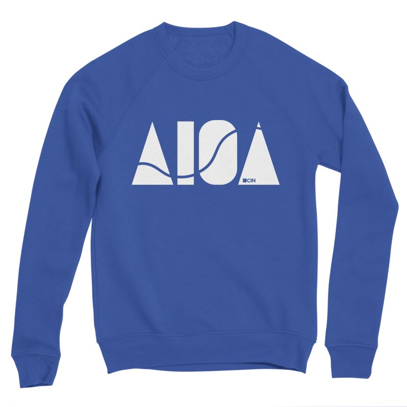 River Town Men's Sponge Fleece Sweatshirt by AIGA Cincinnati Merch
