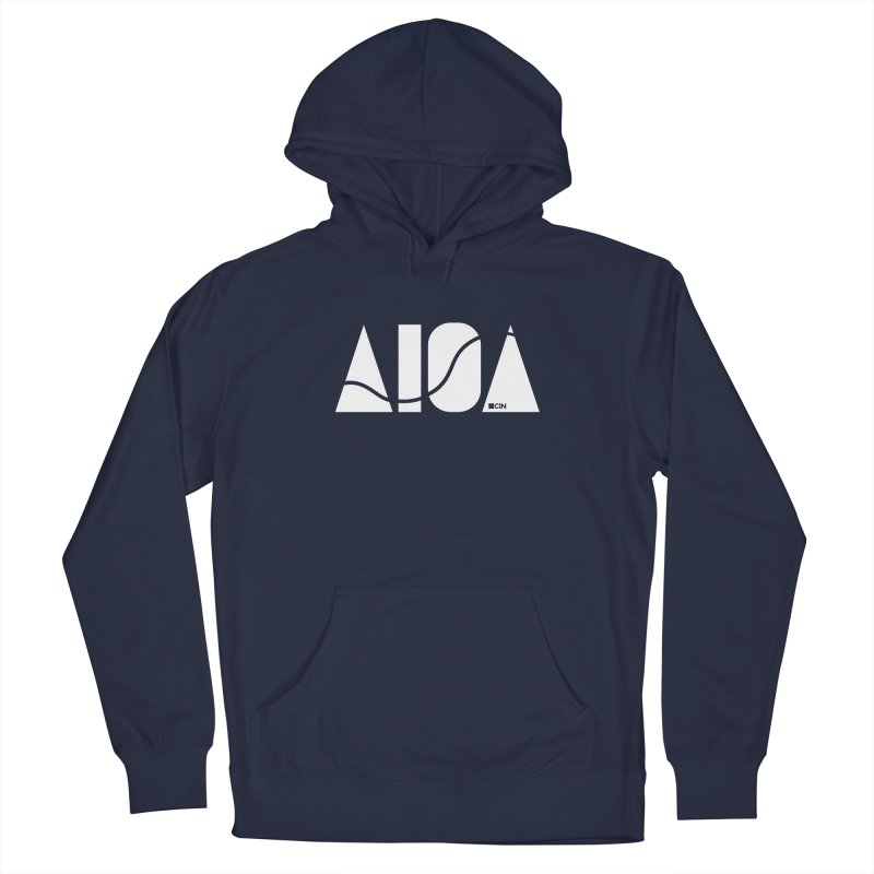 River Town Men's Pullover Hoody by AIGA Cincinnati Merch
