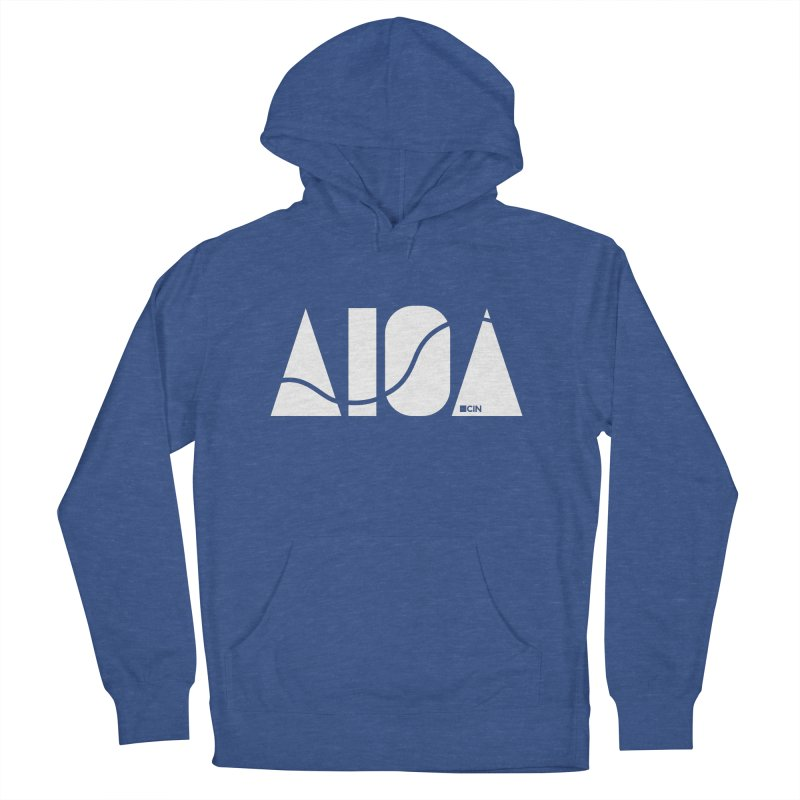 River Town Men's French Terry Pullover Hoody by AIGA Cincinnati Merch