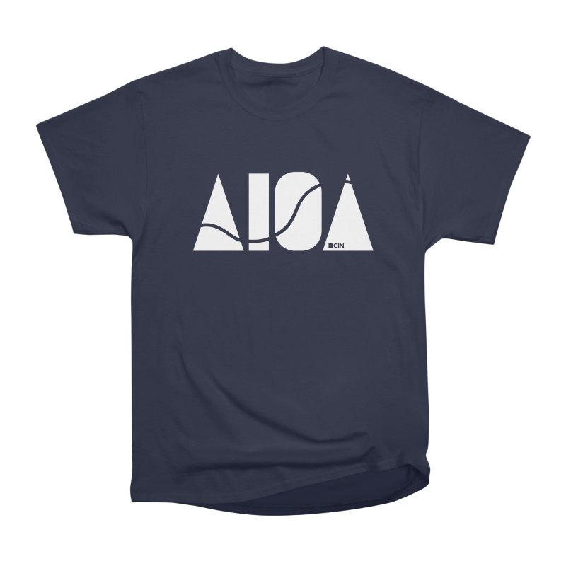 River Town Women's Heavyweight Unisex T-Shirt by AIGA Cincinnati Merch