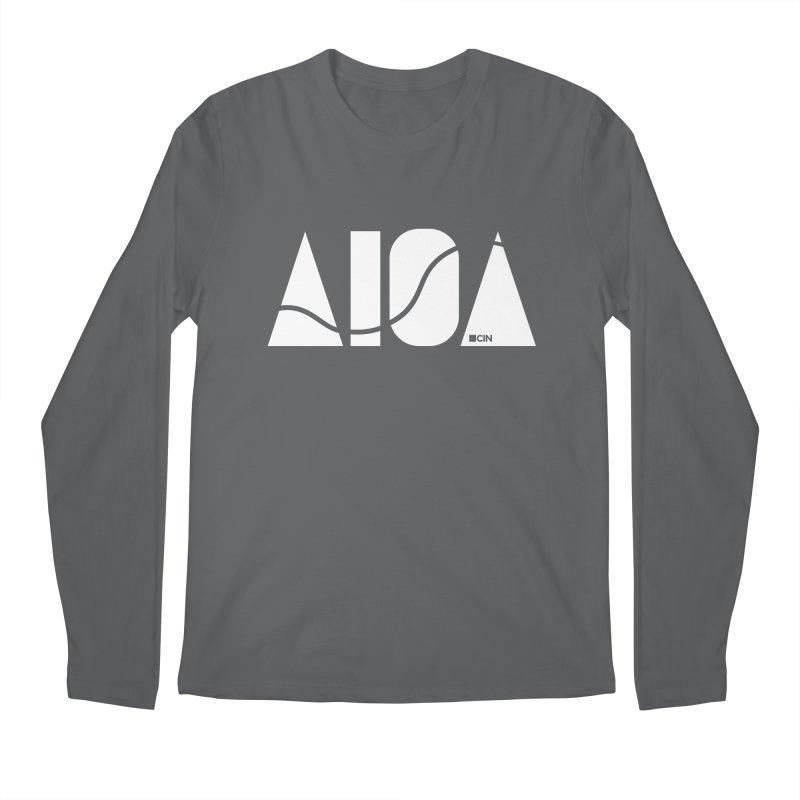 River Town Men's Longsleeve T-Shirt by AIGA Cincinnati Merch