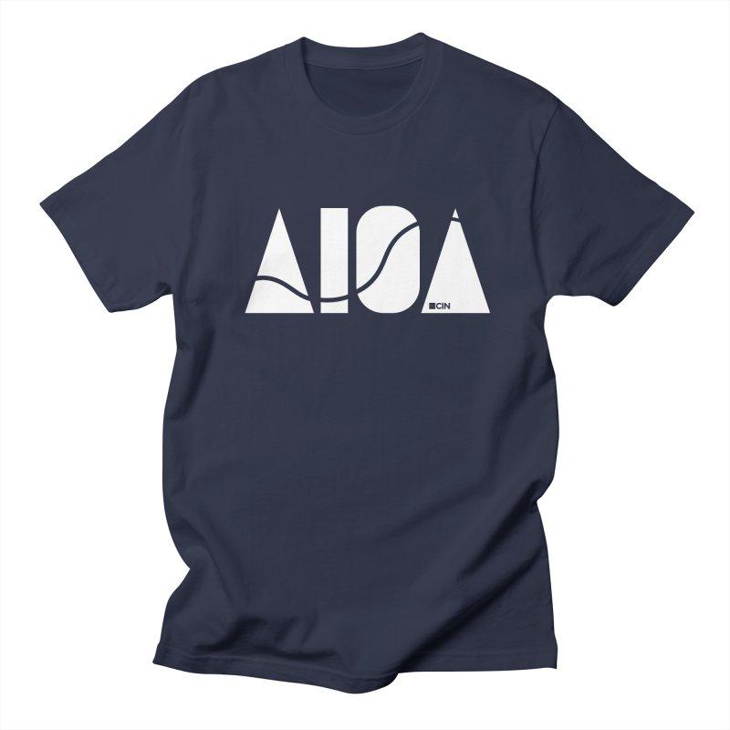 River Town Men's Regular T-Shirt by AIGA Cincinnati Merch
