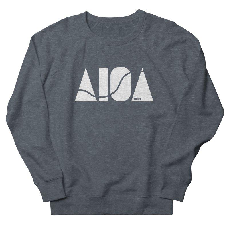River Town Men's French Terry Sweatshirt by AIGA Cincinnati Merch