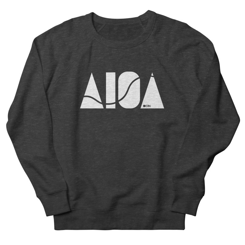 River Town Men's French Terry Sweatshirt by AIGA Cincinnati Merch