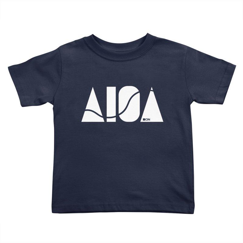 River Town Kids Toddler T-Shirt by AIGA Cincinnati Merch