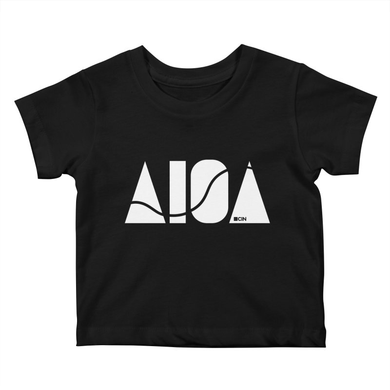 River Town Kids Baby T-Shirt by AIGA Cincinnati Merch