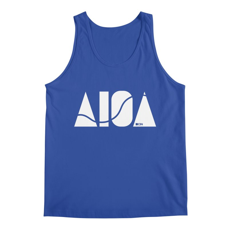 River Town Men's Tank by AIGA Cincinnati Merch