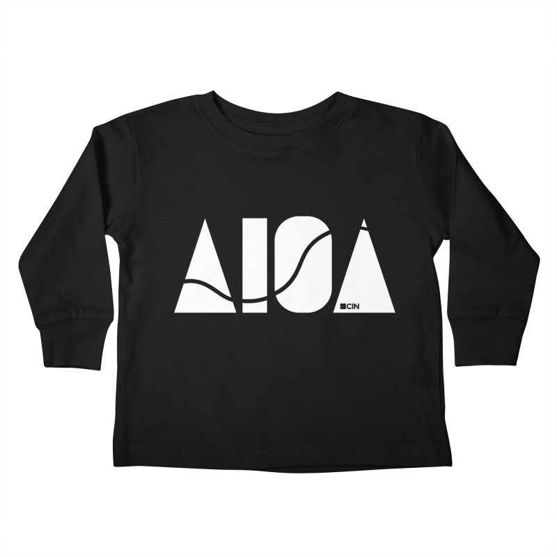River Town Kids Toddler Longsleeve T-Shirt by AIGA Cincinnati Merch