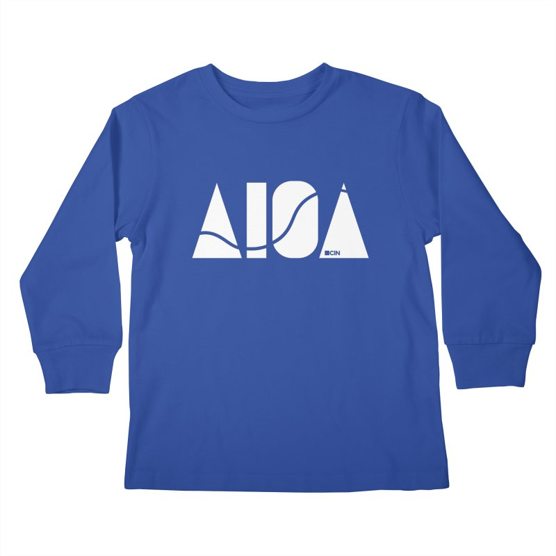 River Town Kids Longsleeve T-Shirt by AIGA Cincinnati Merch