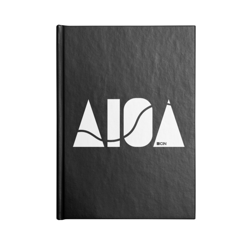 River Town Accessories Lined Journal Notebook by AIGA Cincinnati Merch