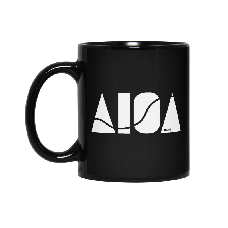 River Town Accessories Standard Mug by AIGA Cincinnati Merch